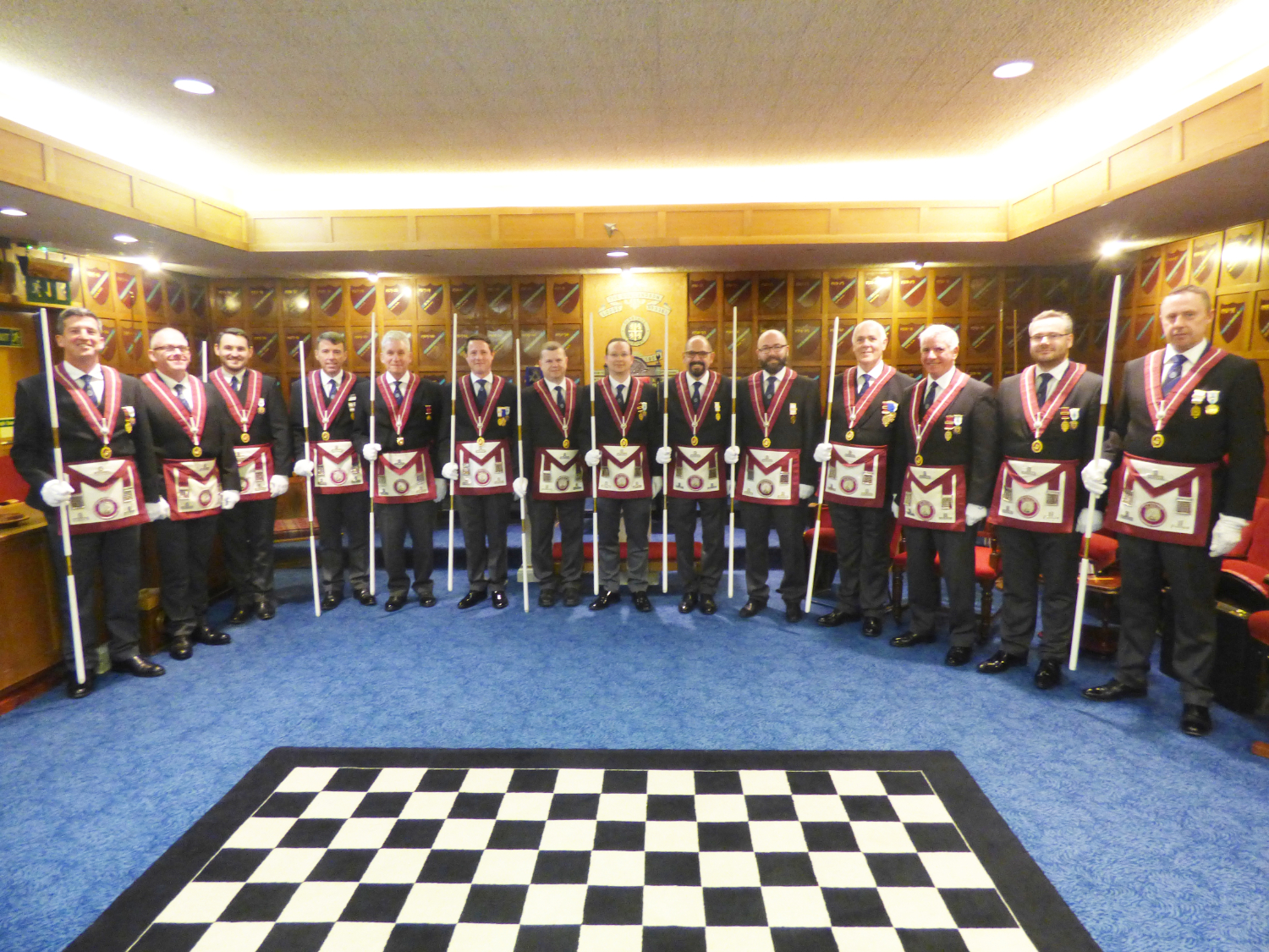 The Provincial Grand Stewards DC Team