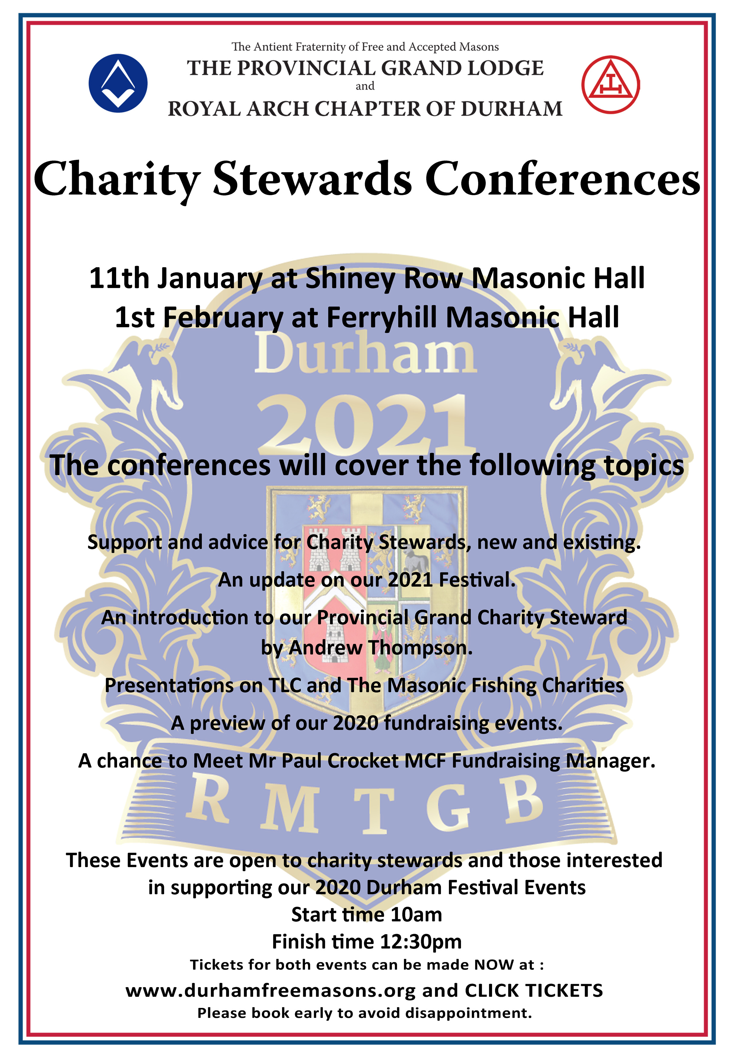 Charity Stewards Conference