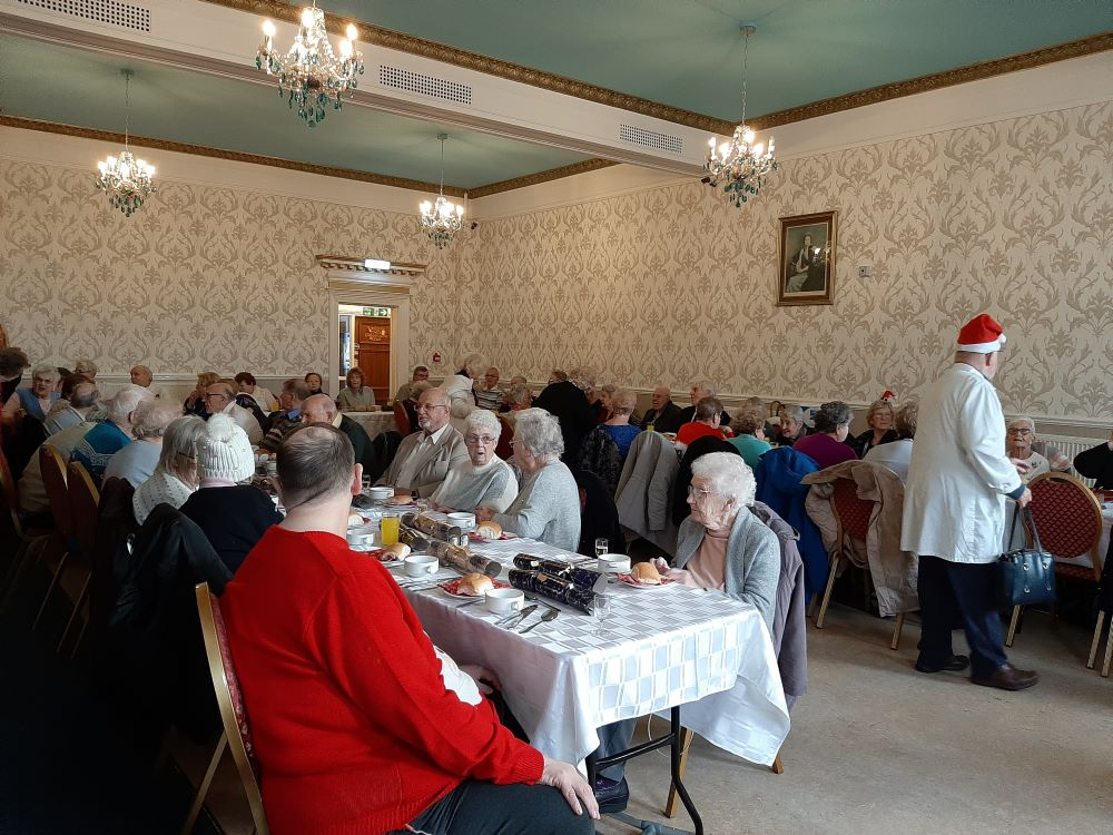 Freemasons bring festive joy